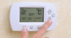 lower thermostat to lose weight