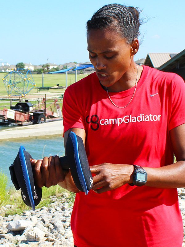 Marion Jones SoftBell Dumbbell Benefits