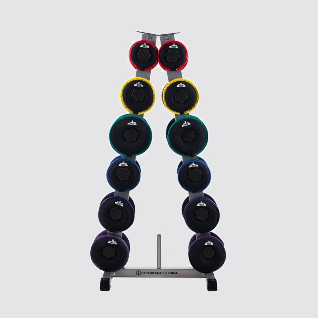 SoftBell Storage Rack - Home Gym Storage