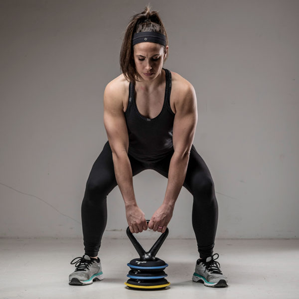 Soft KettleBell Squat