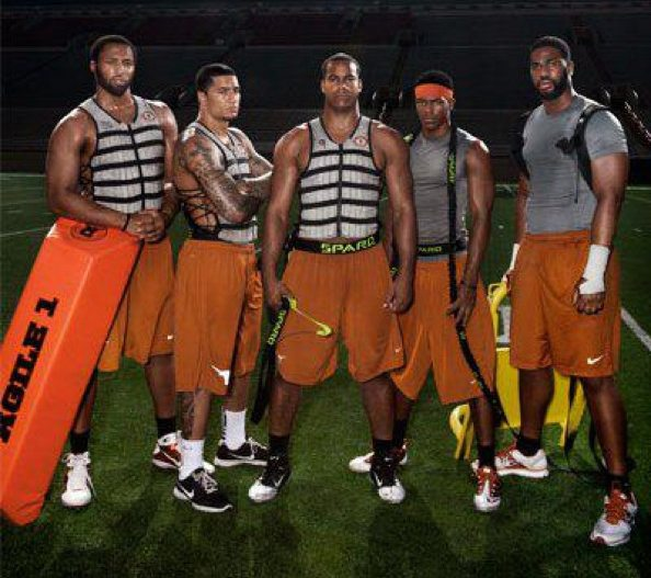Weight Vest Football Training