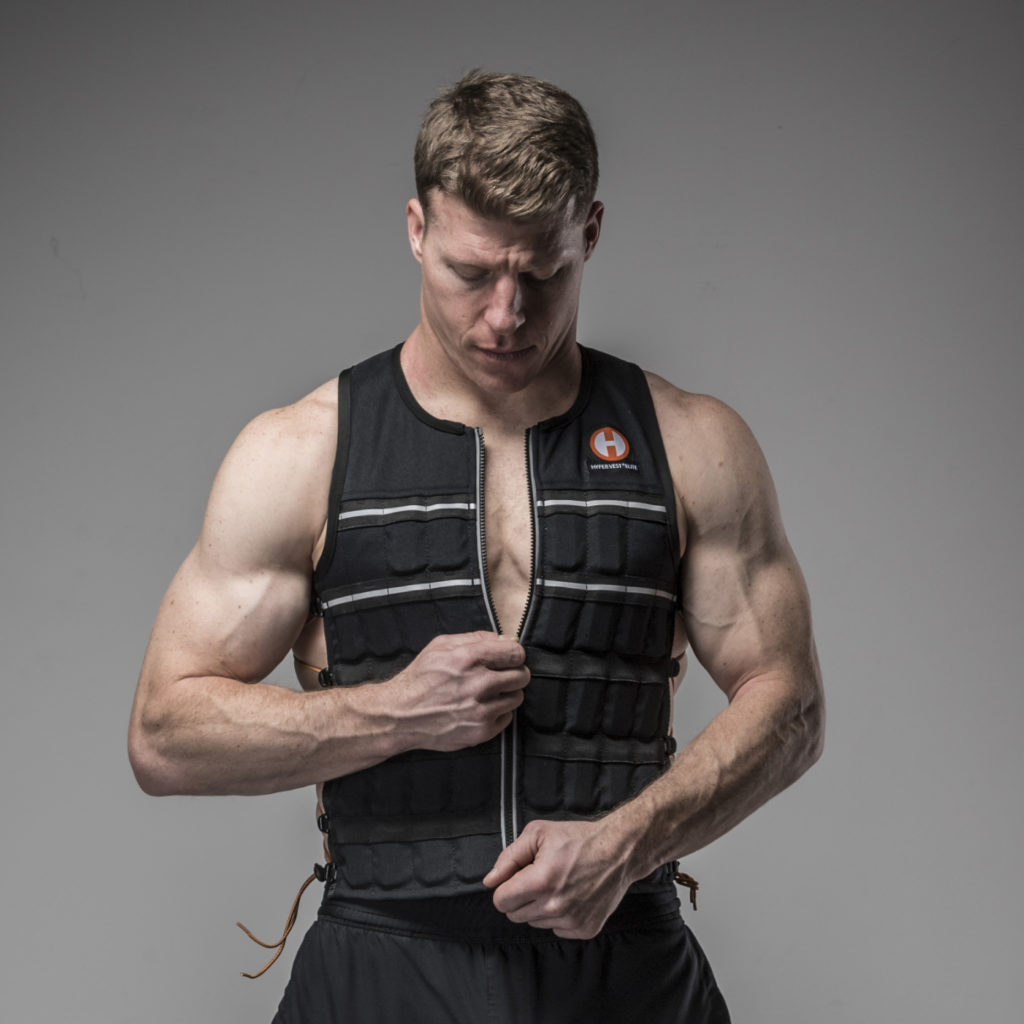 Zip Up Weight Vest