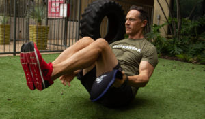 home gym workout routine seated around the world