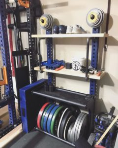 functional fitness garage gym storage