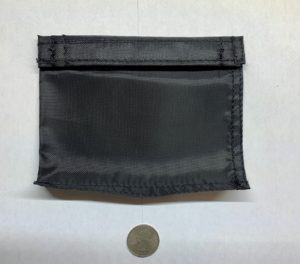 wallet style sand pouch
